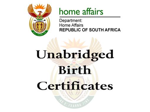Unabridged birth certificates q pro yadclub Gallery